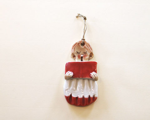 Christmas,Tree,Ornament,-,Choirboy2-,Abbeycrafts,christmas tree ornament, porcelain, choirboy