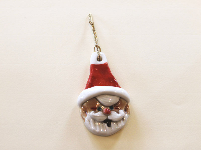Christmas Tree Ornament - Santa- Abbeycrafts - product image