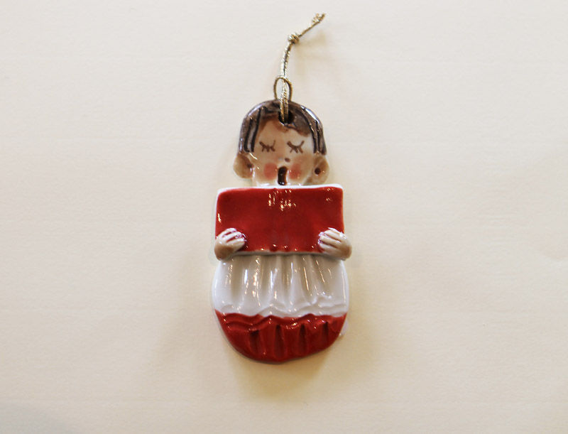 Christmas Tree Ornament - Choirboy - Abbeycrafts - product images