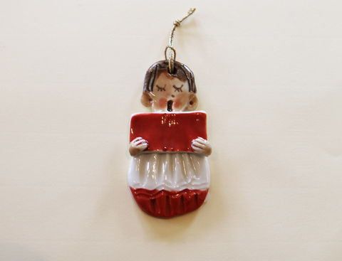 Christmas,Tree,Ornament,-,Choirboy,Abbeycrafts,christmas tree ornament, porcelain, Choirboy