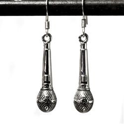 Microphone Earrings Sterling 58 - product images  of