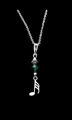 Music Note Necklace-32nd Note - product images  of