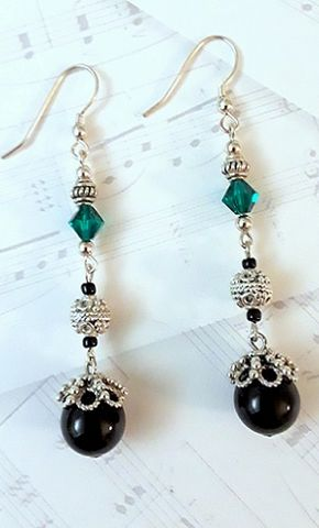 Royal,Vibe,Royal vibe, long dangle earrings