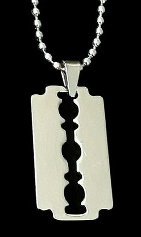 Dimebag,Razorblade,Necklace,dimebag darrell razorblade necklace