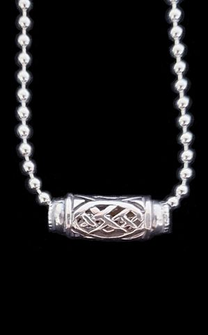Bead,on,Celtic necklace, Bead on Bead necklace