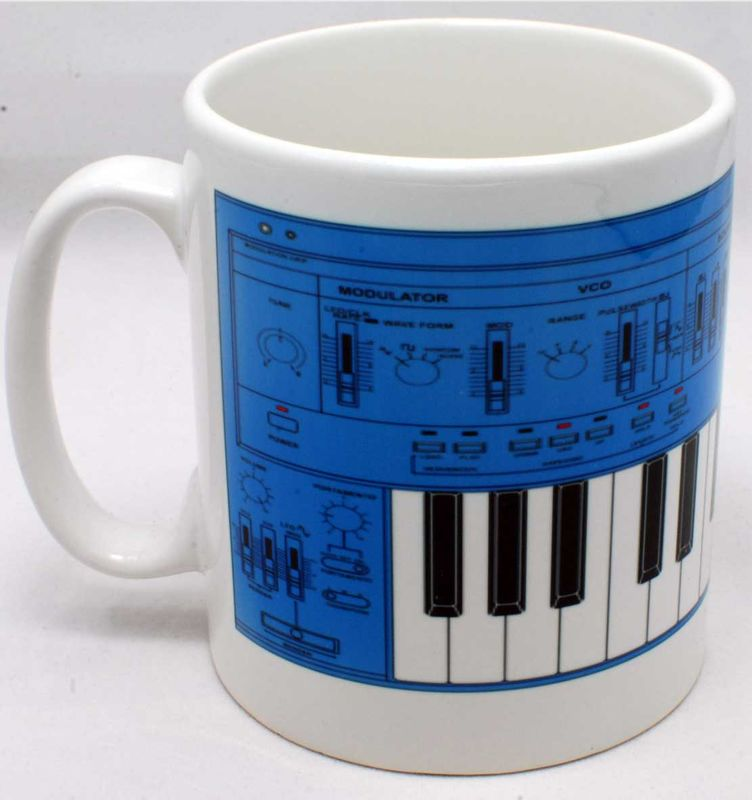 Roland SH101 Mug Blue - product images  of