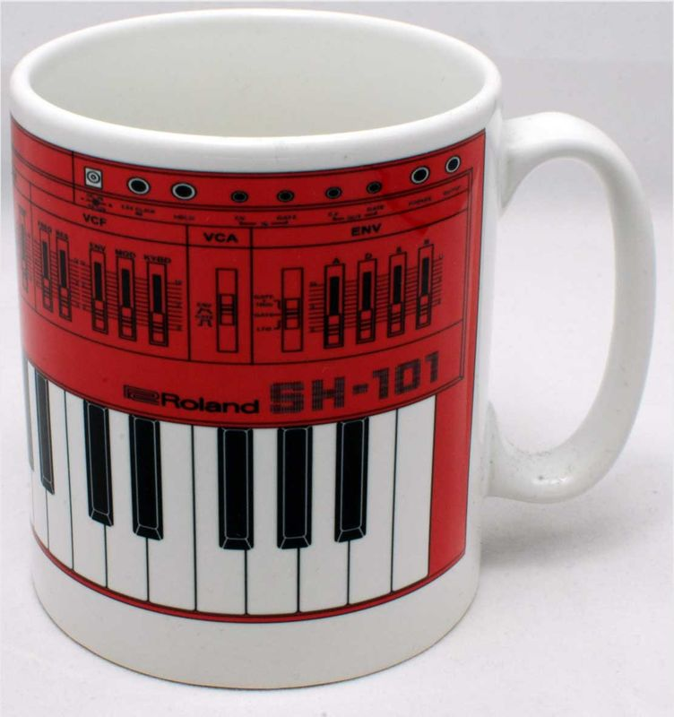 Roland SH101 Mug Pink - product images  of
