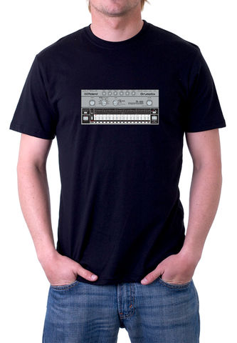 Roland,TR606,T-Shirt,moog, ladder filter,roland,tr909, tb303, tr808, bassline, synthesiser, sequencer, acid house, rhythm composer