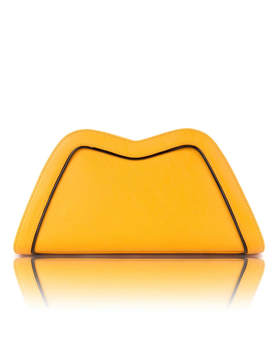 Tuesday // yellow leather - product image