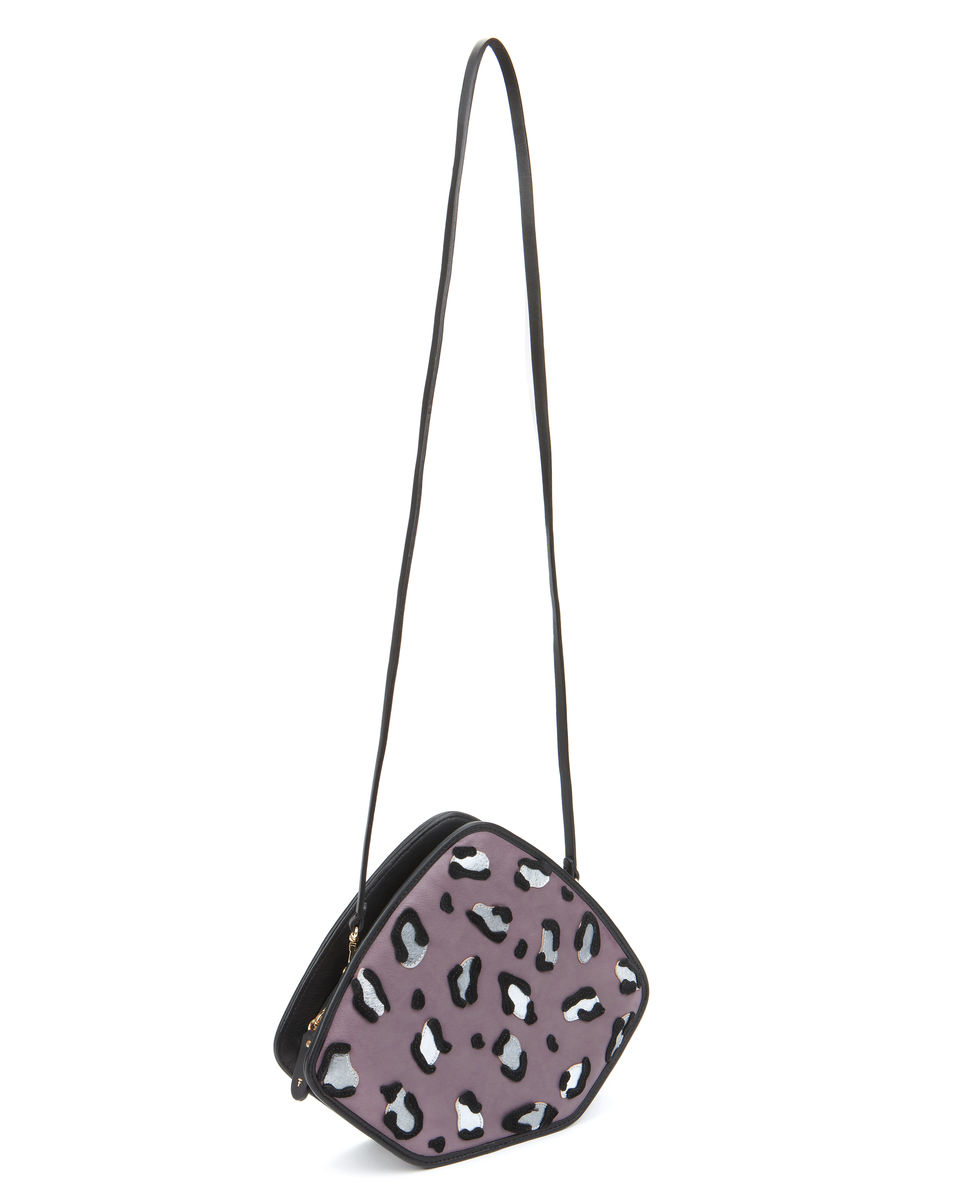 Friday // lavender leopard applique - product images  of