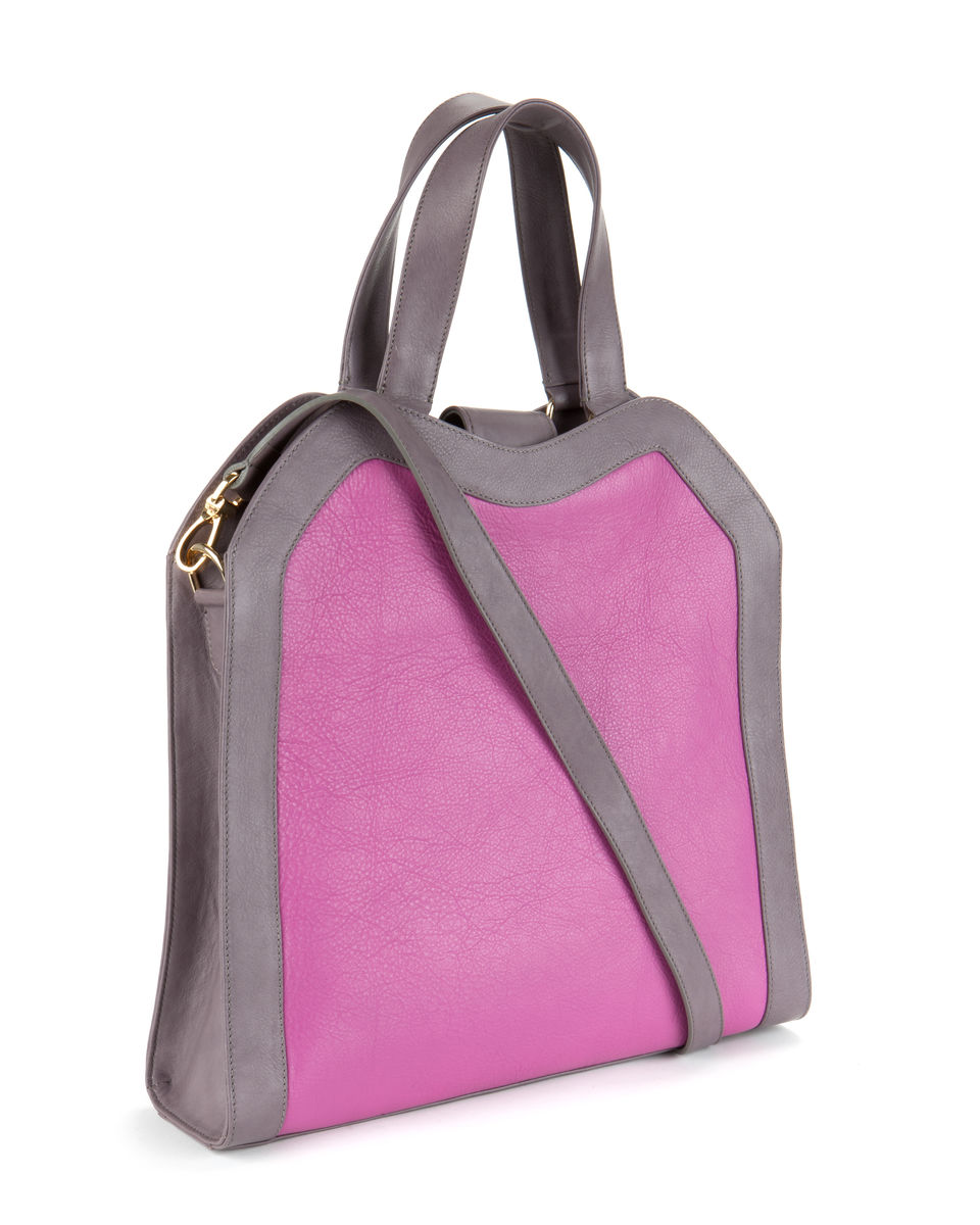 Wednesday // pink and lavender leather - product images  of