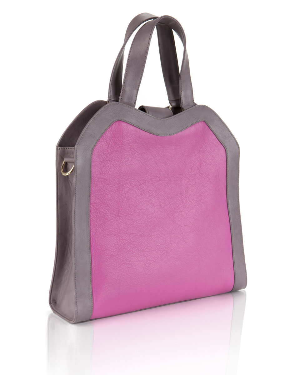 Wednesday // pink and lavender leather - product image
