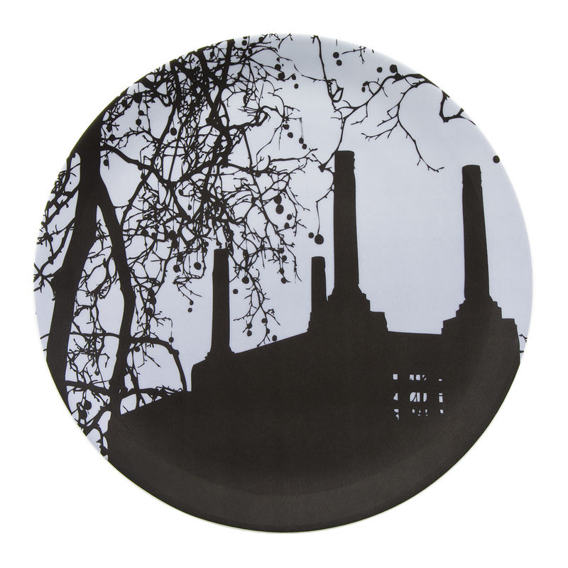 Old Battersea Power Station Limited Edition Blue Wall Plate - product image