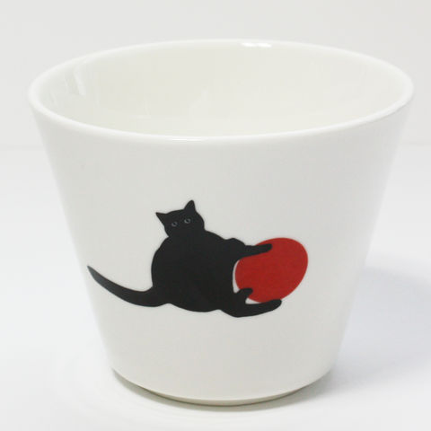 Black,Cat,Sugar,Bowl, Cat, Sugar, Bowl