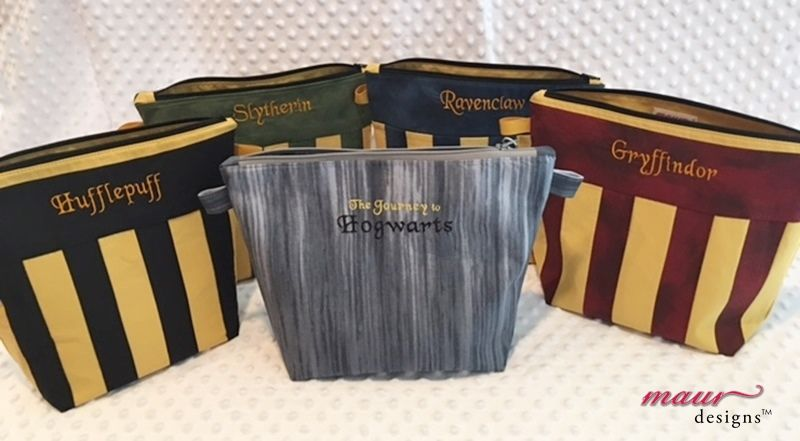 Gryffindor Harry Potter Project Bag - product images  of