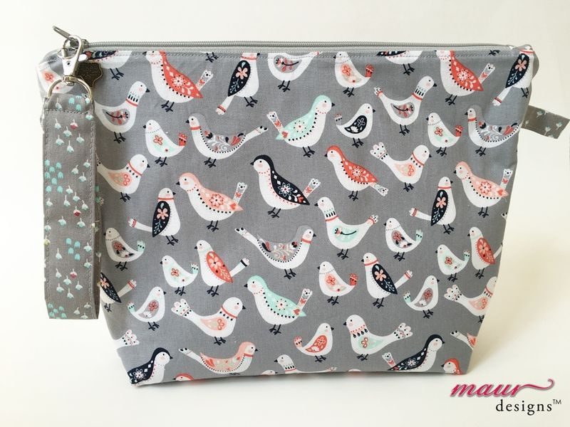 Birds on the Grey - Project Bag - product images  of
