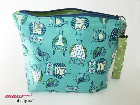 Wide,eyed,Owl,Project,Bag,owl project bag