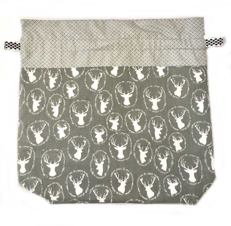 Large Stag head Project Bag - product images  of