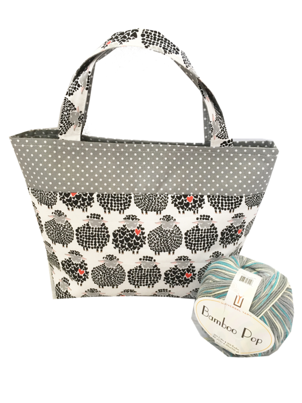 Black Sheep Sock Pop Up Project Bag - product images  of