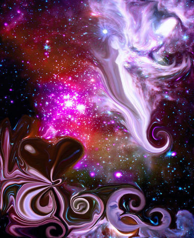 Celestial,Art,,Spiritual,Wall,Decor,,Reiki,Healing,,The,Guardian,celestial art, guardian angel, metaphysical art, primal painter, primalpainter, twin flames, twin souls, violet flame healing, violet flame, chakra art, reiki art, visionary art, rainbow art, angel art, digital art, psychedelic art, yoga room, meditation