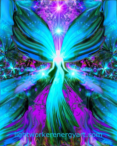 Healing,Angel,Art,,Reiki,Energy,Wall,Decor,Lightworker,twin flames, twin souls, violet flame healing, violet flame, chakra art, reiki art, visionary art, rainbow art, angel art, digital art, psychedelic art, yoga room, meditation, spiritual art, wall decor, wall art, wall hanging, art print, healing art, reik
