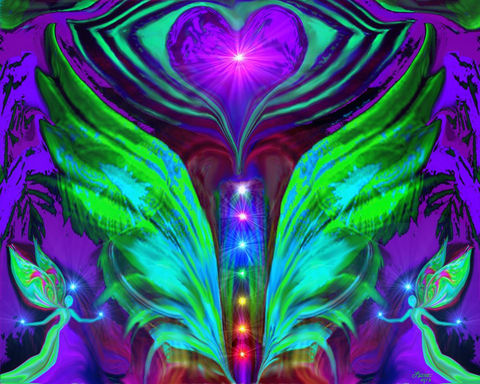Chakra,Art,,Energy,Healing,,Reiki,Angel,Spread,Your,Wings,twin flames, twin souls, violet flame healing, violet flame, chakra art, reiki art, visionary art, rainbow art, angel art, digital art, psychedelic art, yoga room, meditation, spiritual art, wall decor, wall art, wall hanging, art print, healing art, reik