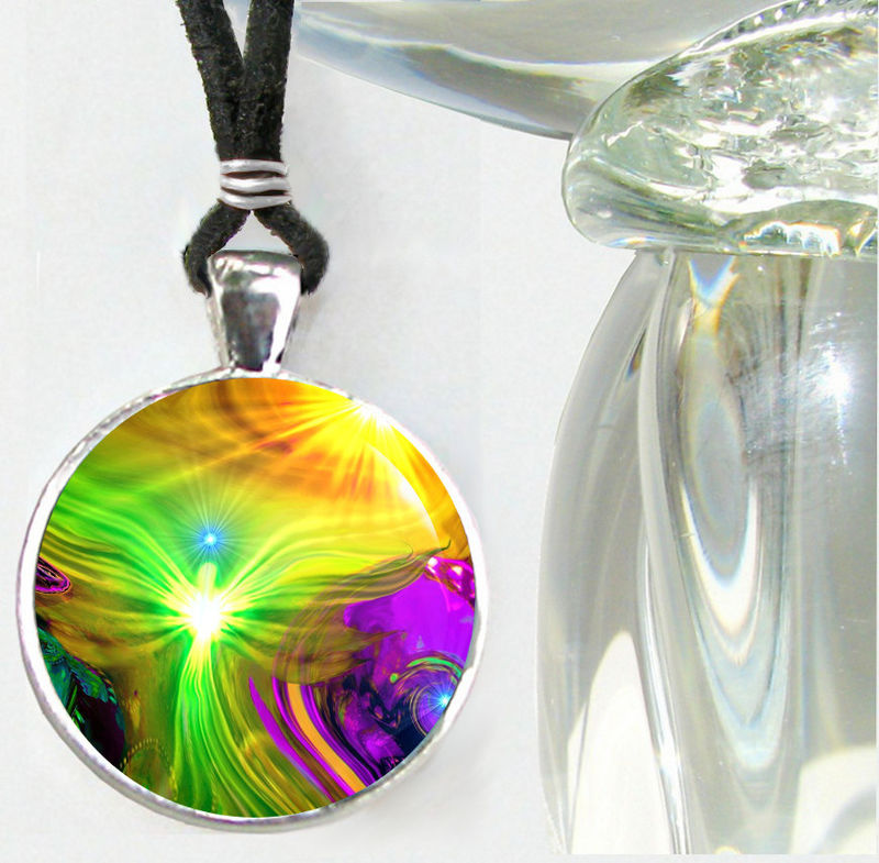 "Chakra Jewelry, Reiki Necklace, Energy Pendant ""Awakening"" - product images  of"