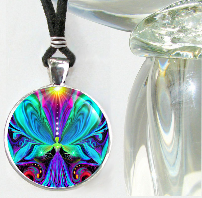 "Chakra Jewelry, Reiki Necklace, Angel Pendant ""Vibrance"" - product images  of"