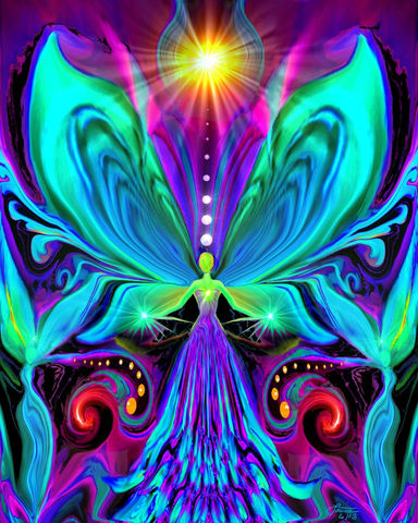 Rainbow,Psychedelic,Angel,,Chakra,Art,Print,Vibrance,violet flame healing, violet flame, chakra art, reiki art, visionary art, rainbow art, angel art, digital art, psychedelic art, yoga room, meditation, spiritual art, wall decor, wall art, wall hanging, art print, healing art, reiki healing, energy healing