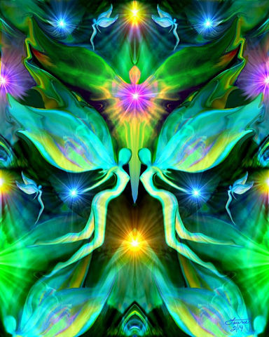 Reiki,Energy,Art,,Green,Heart,Chakra,Healing,Angel,Print,Duality,violet flame healing, violet flame, chakra art, reiki art, visionary art, rainbow art, angel art, digital art, psychedelic art, yoga room, meditation, spiritual art, wall decor, wall art, wall hanging, art print, healing art, reiki healing, energy healing