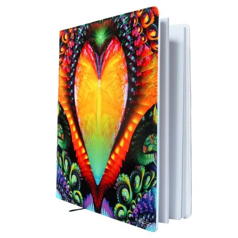 Rainbow,Art,Sketchbook,,Reiki,Angel,Journal,,Chakra,Healing,Notebook,Universal,Love,abstract art, energy art, rainbow, rainbow love, mushroom book, fairy art, fairy journal, fairy notebook, fantasy art, twin flames, third eye, sixth chakra, angel, angels, folio, sketchbook, sketch book, notebook, journal, art journal, intuition, purple a