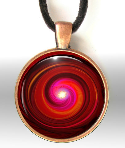 Red,Necklace,,Root,Chakra,Jewelry,,Reiki,Energy,Art,Pendant,Swirl,red necklace, red jewelry, red pendant, swirl, chakra art, reiki art, visionary art, rainbow art, angel art, digital art, psychedelic art, yoga room, meditation, spiritual art, wall decor, wall art, wall hanging, art print, healing art, reik