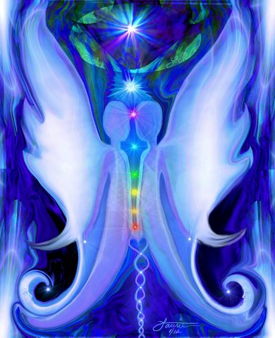 Twin,Flames,,Soulmates,,Chakra,Art,,Reiki,Angel,Print,Twin,Souls,primal painter, primalpainter, chakra art, reiki art, visionary art, rainbow art, angel art, digital art, psychedelic art, yoga room, meditation, spiritual art, wall decor, wall art, wall hanging
