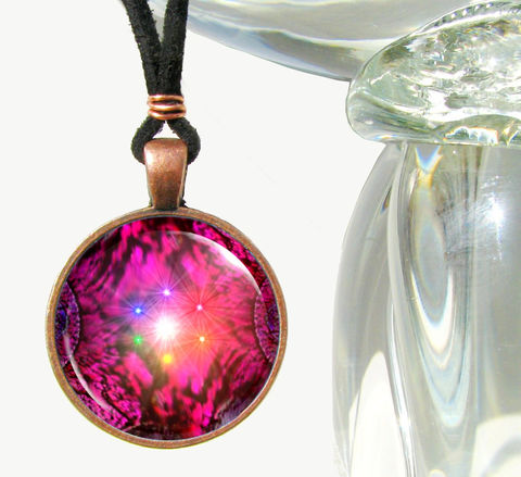 Chakra,Art,Necklace,,Red,Jewelry,,Reiki,Healing,Pendant, art jewelry, red necklace,  fuchsia pendant, energy healing, reiki, chakras, pendant necklace, handmade, fantasy, healing, energy, spiritual, jewelry, hippie, boho, bohemian, festival, chic, new age, psychedelic, metaphysical, abstract, meditation, chakr