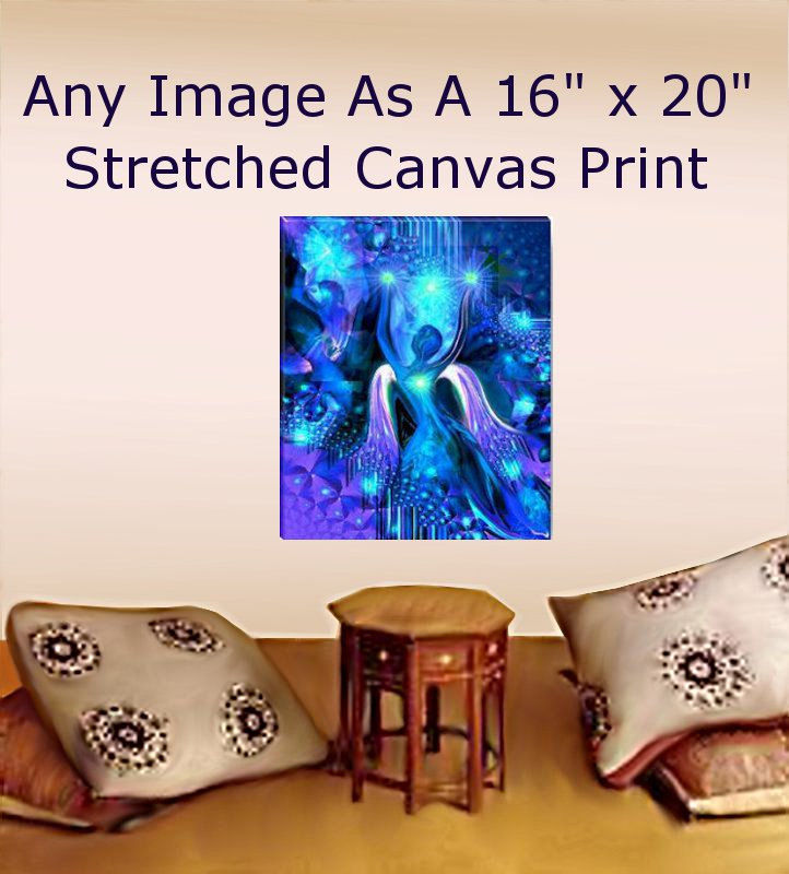 Large Canvas Giclee Print Yoga Meditation Wall Decor 16