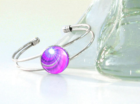 Violet,Bracelet,,Crown,Chakra,Silver,Cuff,,Reiki,Energy,Intuition,bracelet, wrist cuff, cuff, reiki, healing, energy, spiritual, jewelry, chakras, hippie, boho, bohemian, festival, chic, new age, psychedelic, metaphysical, blue, purple, teal, abstract, meditation, angel, yoga, alternative healing, visionary, ar