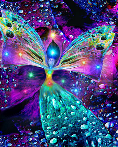 Chakra,Art,,Angel,Healing,Rainbow,,Reiki,Bubbles,of,Clearing,bubbles, rainbow art, primal painter, primalpainter, twin flames, twin souls, violet flame healing, violet flame, chakra art, reiki art, visionary art, angel art, digital art, psychedelic art, yoga room, meditation, spiritual art, wall decor