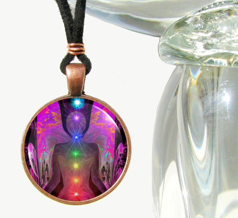 Chakra,Art,,Angel,Necklace,,Reiki,,Unique,Jewelry,Balance,Within,Chaos, chakras, rainbow, balance, metaphysical, blue, purple, teal, abstract, necklace, pendant, pendant necklace, reiki, healing, energy, spiritual, jewelry, meditation, angel, yoga, alternative healing, visionary, art