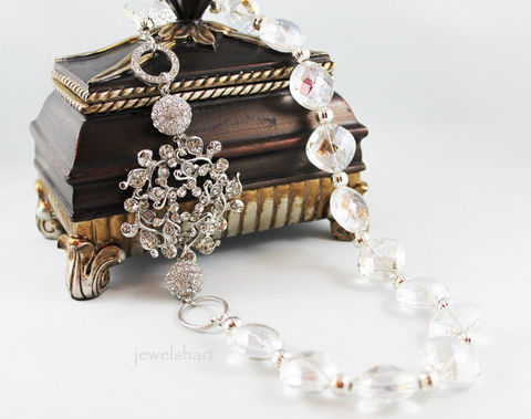 Crystal,Bridal,Statement,Necklace,Weddings,Jewelry,bridal_necklace,statement_necklace,bridal_statement,bridal_jewelry,statement_jewelry,wedding_jewelry,crystal_necklace,crystal_statement,wedding_necklace,jewelry_bridal,necklace_assemblage,rhinestone_brooch,repurposed_jewelry,glas
