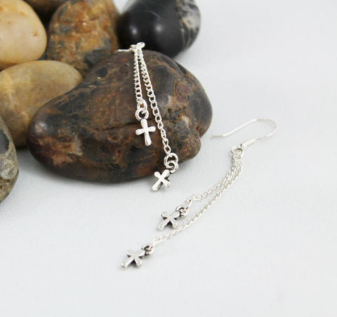 Long,Tiny,Cross,Dangle,Earrings,Jewelry,dangle_earrings,tiny_cross_earrings,long_dangle_earrings,spiritual_jewelry,spiritual_earrings,religious_earrings,religious_jewelry,everyday_earrings,cross_earrings,cross_dangle_earring,gift_idea,jewelry_gift_idea,simple_earrings,mi