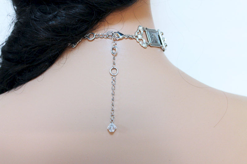 Elegant Art Deco Evening Choker - product images  of