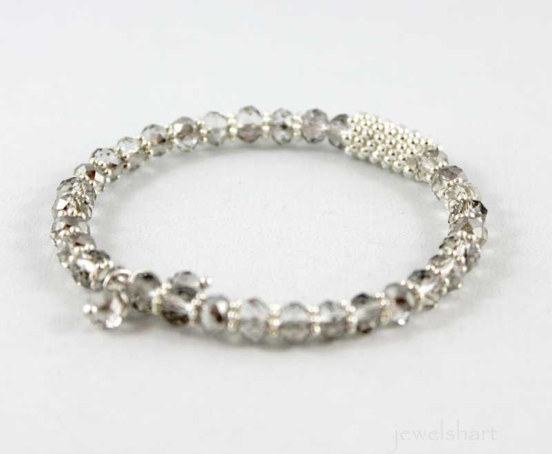 Beaded Bangle Bracelet - product images  of