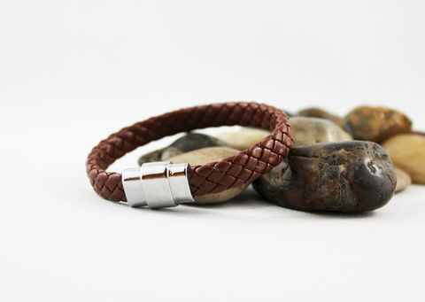 Men's,Brown,Braided,Leather,Bracelet,Jewelry,Cuff,mens_bracelet,brown_bracelet,braided_leather,leather_bracelet,brown_leather,magnetic_clasp,leather_braided,mens_jewelry,mens_leather,gift_idea,for_men,mens_bracelets,leather_braclet,braided leather,magnetic clasp