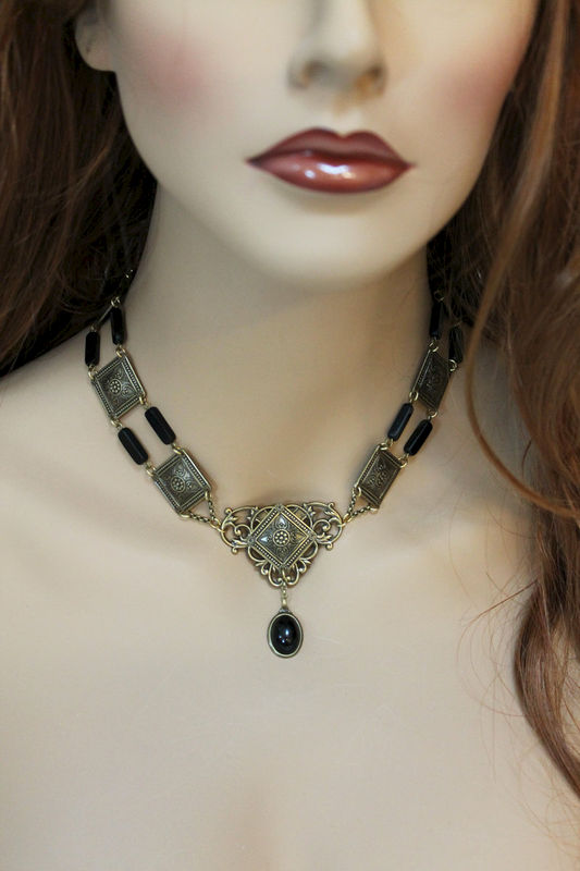 Elegant Edwardian Choker Necklace - product images  of