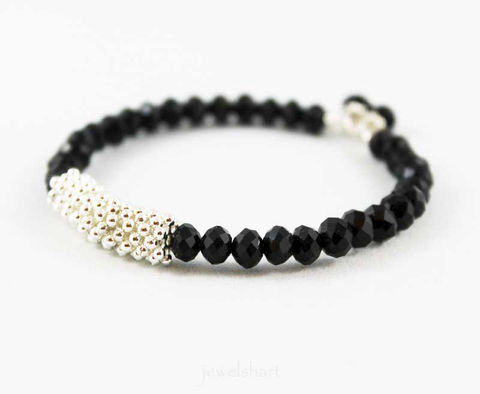 Shiny,Black,Bead,Memory,Wire,Bangle,Bracelet,Jewelry,black_beaded,black_bracelet,memory_wire,beaded_wire,stacking_bracelet,fashion_bracelet,trendy,bangle_bracelet,black_bead_bracelet,wire_bracelet,black_bangle,shiny_jewelry,shiny_bracelet,memory wire,crystal beads,mixed metals