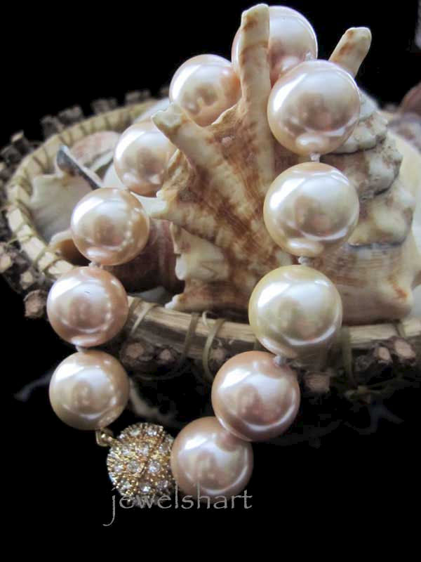 Large Pearl Bridal Bracelet - product images  of