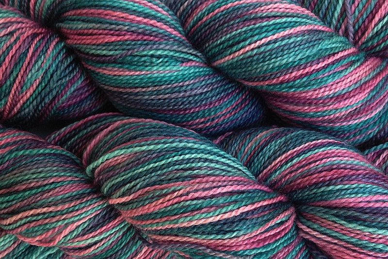 Desert Cactus Hand Dyed Fingering Weight - product image