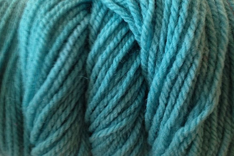 Cactus Green Hand Dyed Merino Wool Yarn Worsted Weight - product image