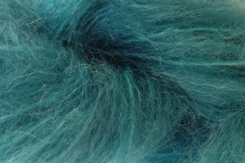 Cactus Green Mohair Yarn Fingering Weight - product image