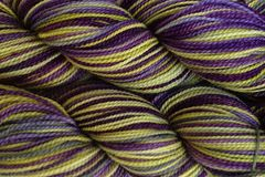Autumn,Hydrangea,Hand,Dyed,Fingering,Weight,Merino Wool Hand Dyed Yarn, Autumn Hydrangea, Green Purple, Fingering Weight Yarn, Super Wash Sock Yarn, eweandmeyarns.com